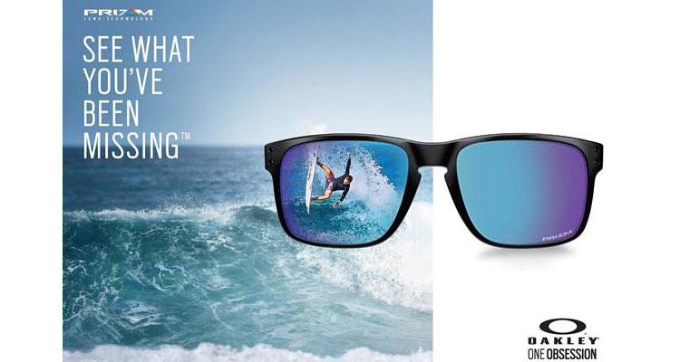 7710816f34 OAKLEY lança a coleção Sapphire Fade com a tecnologia de lentes PRIZM