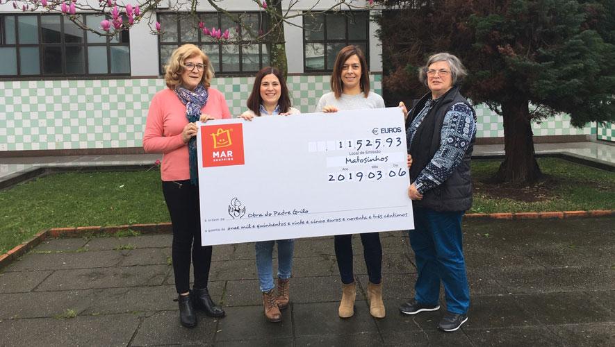 MAR Shopping Matosinhos dá donativo para apoiar jovens desfavorecidos