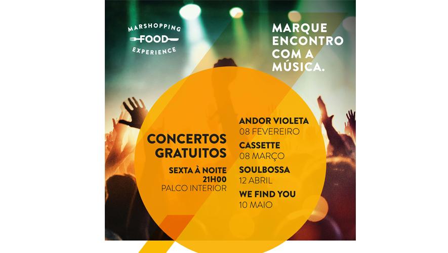 Soulbossa, um verdadeiro cartão postal do Brasil, para ouvir no MAR Shopping Matosinhos