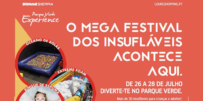 Mega Festival de Insufláveis aterra no LoureShopping